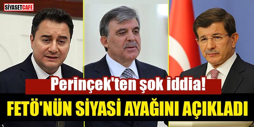 Perinçek'ten şok iddia! FETÖ'nün siyasi ayağını açıkladı