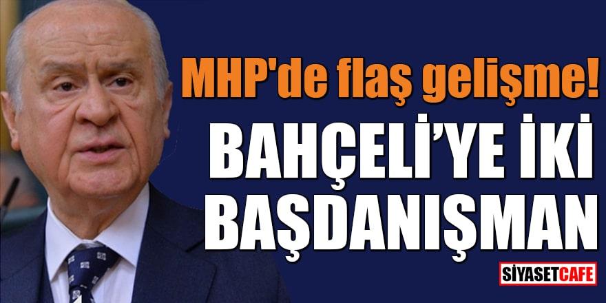 MHP'de flaş gelişme Bahçeli'ye iki başdanışman