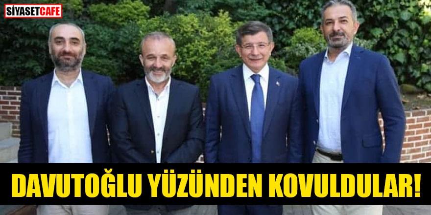 Ahmet Davutoğlu yüzünden kovuldular