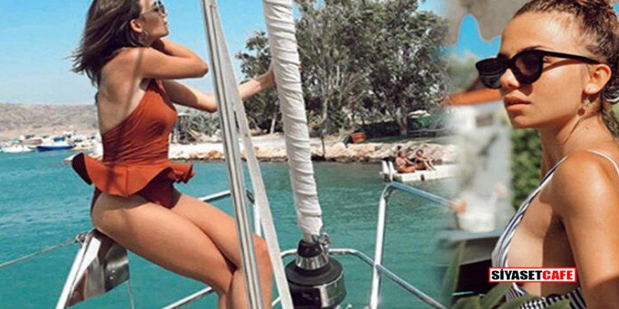 Bahar Şahin tatil pozlarıyla beğeni rekoru aldı