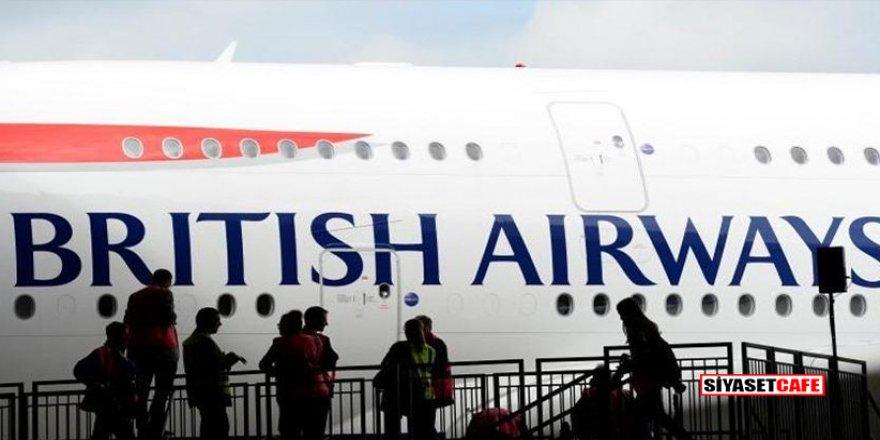 İngiltere'den şok karar! Uçuşları durdurdu