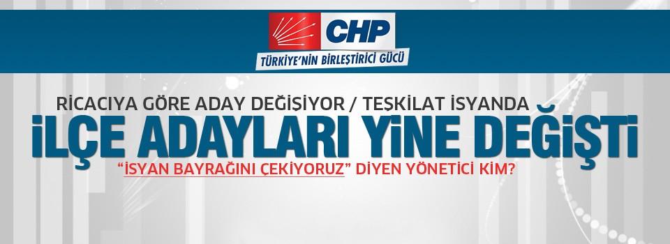 CHP'de yine aday değişimi! Parti karıştı