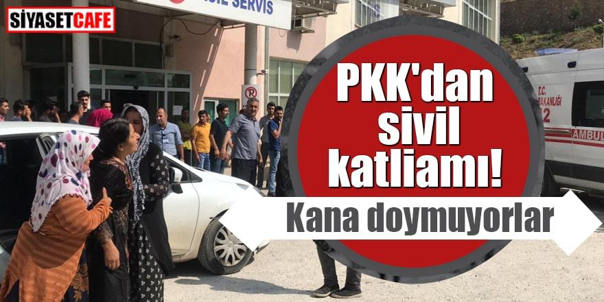 PKK'dan sivil katliamı Kana doymuyorlar