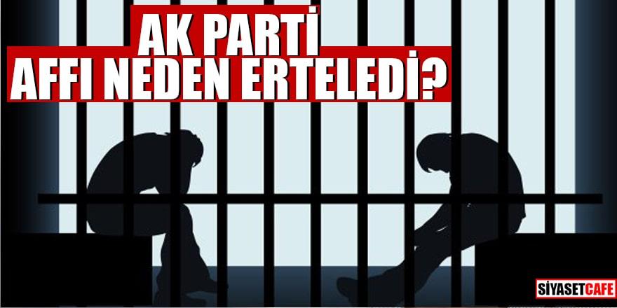 AK Parti affı neden erteledi?