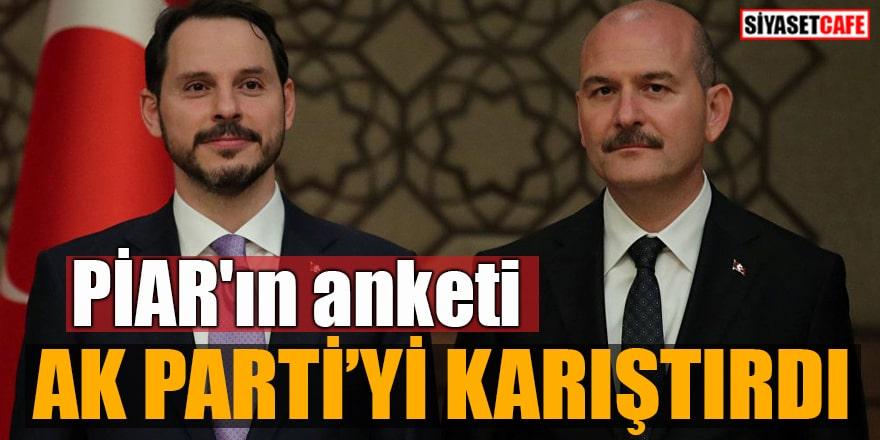 PİAR'ın anketi AK Parti'yi karıştırdı