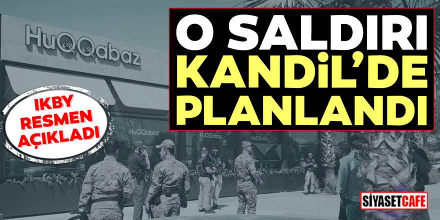 Erbil saldırısı Kandil'de planlanmış! Teröristlerin yakalanma anı böyle görüntülendi