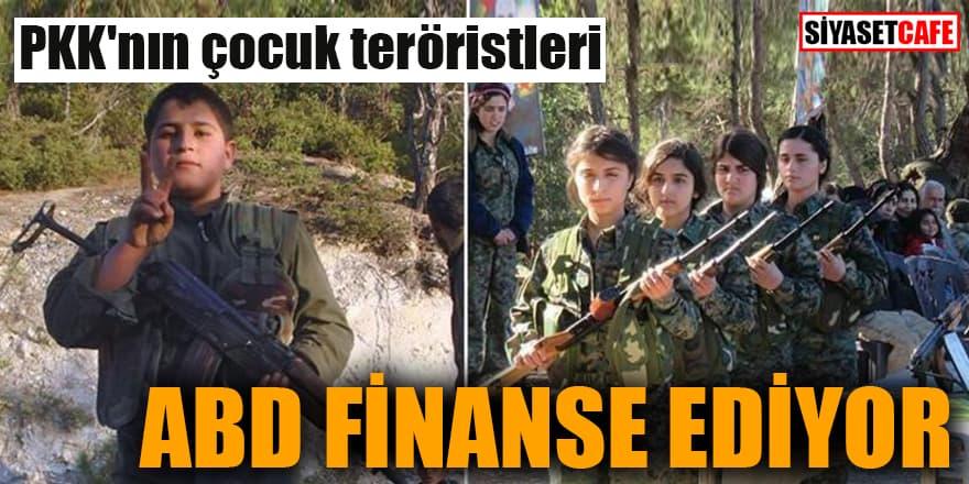 PKK'nın çocuk teröristleri ABD finanse ediyor