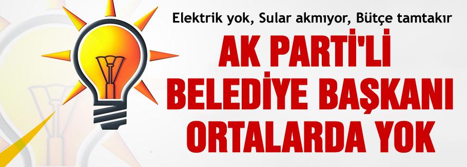 AKP'li başkan hakkında işlem yapılacak