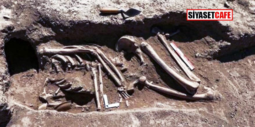 2 bin 700 yıllık sır!  İskeletin kafatası nerde?