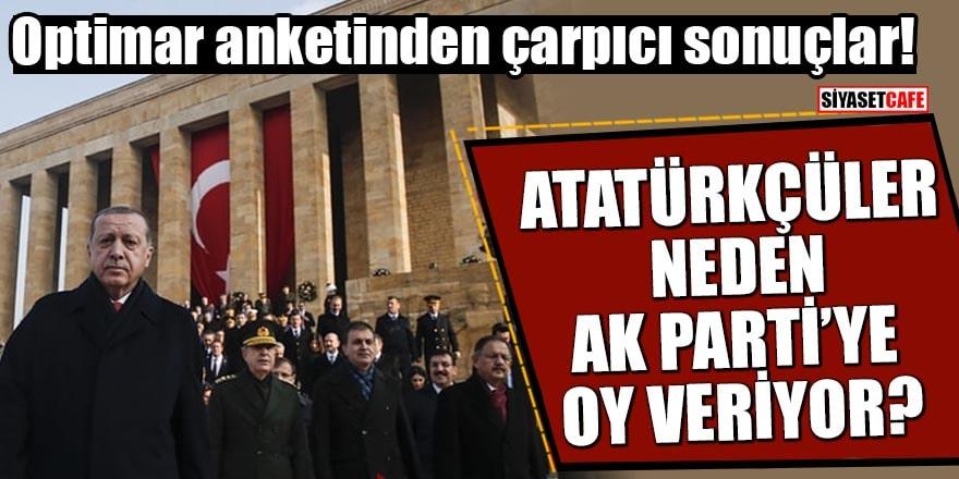 Optimar anketinden çarpıcı sonuçlar! Atatürkçüler neden AK Parti'ye oy veriyor?