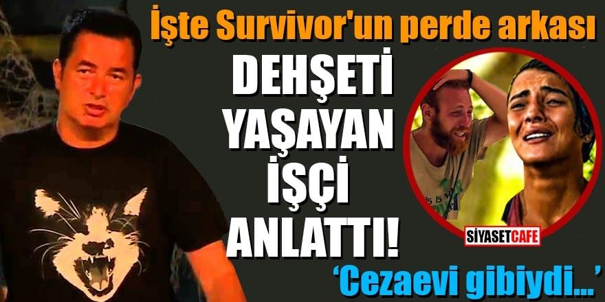 Survivor'un perde arkasındaki dehşeti anlattı: Cezaevi gibiydi