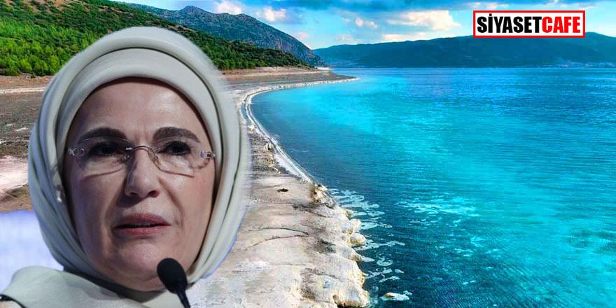 Emine Erdoğan'dan Salda Gölü hakkında flaş açıklama!