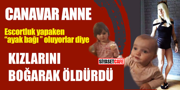 Canavar anne eski hayatına dönmek için 2 kızını öldürdü!