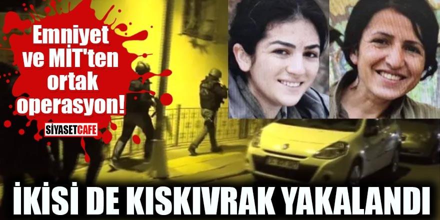 Emniyet ve MİT'ten ortak operasyon! İki kadın terörist yakalandı
