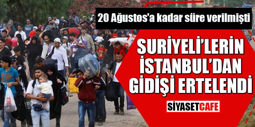 20 Ağustos'a kadar süre verilmişti AK Parti'de flaş Suriyeli gelişmesi