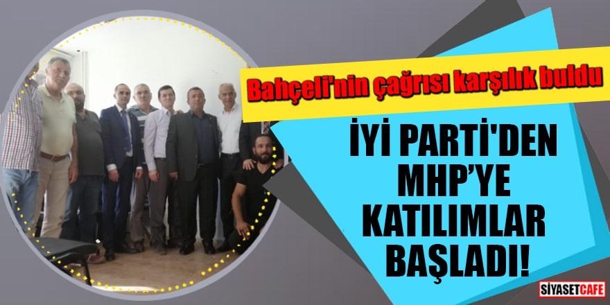 Bahçeli'nin çağrısı karşılık buldu İYİ Parti'den MHP'ye katılımlar başladı