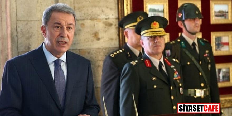 Milli Savunma Bakanı Akar: Rum komşularımız akıllı olsun!