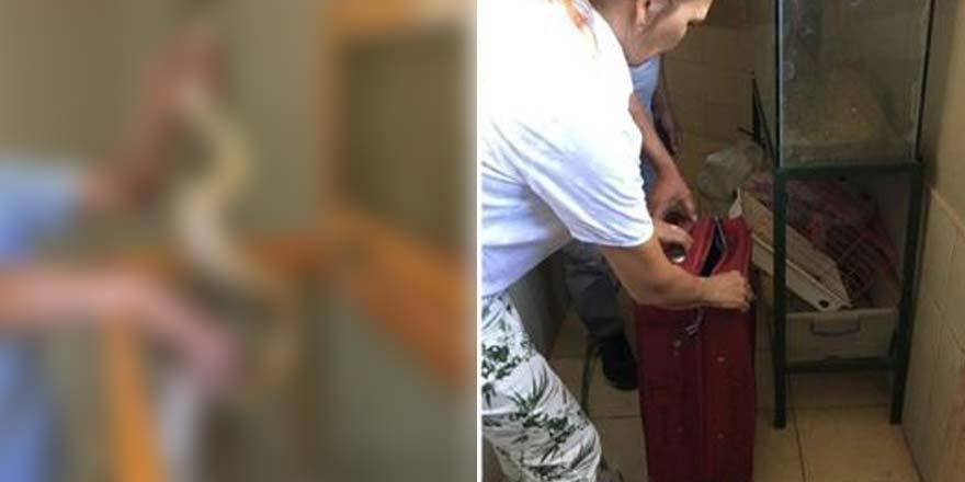 Otogar'da kontrole takıldı, valizin içinden öyle bişey çıktı ki...