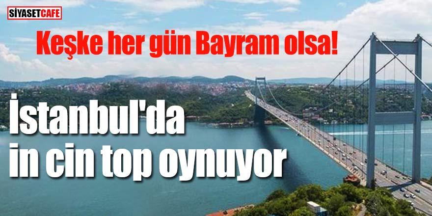 İstanbul'da in cin top oynuyor