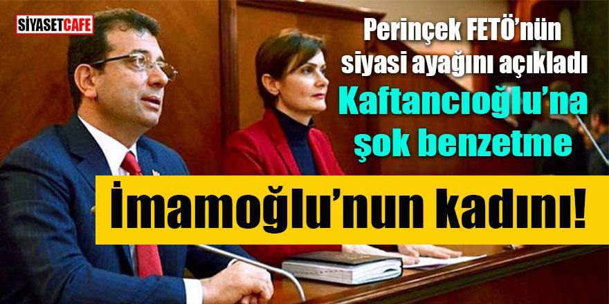"""Perinçek FETÖ'nün siyasi ayağını açıkladı: """"O da İmamoğlu'nun kadını!"""""""