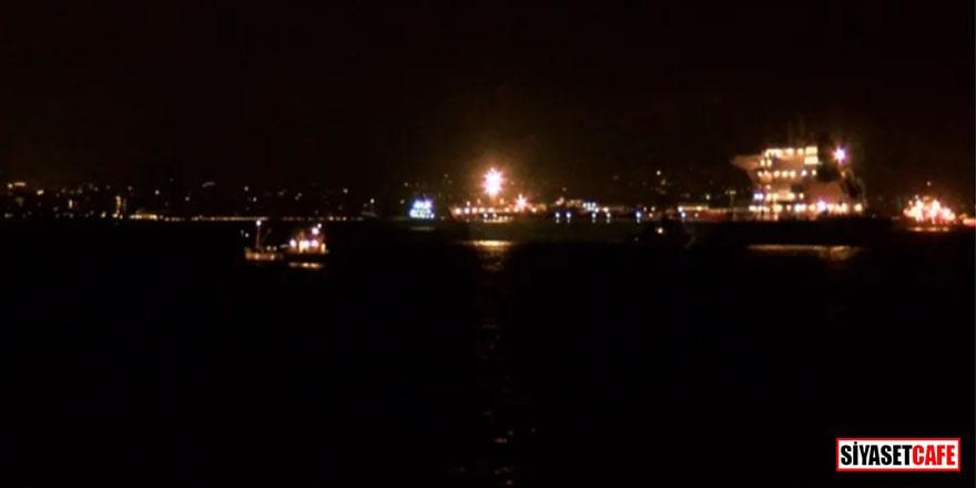 Zeytinburnu açıklarında iki tanker çarpıştı