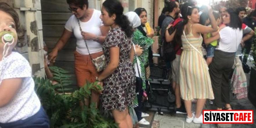 Fatih'te otelde yangın paniği! Hemen tahliye edildiler
