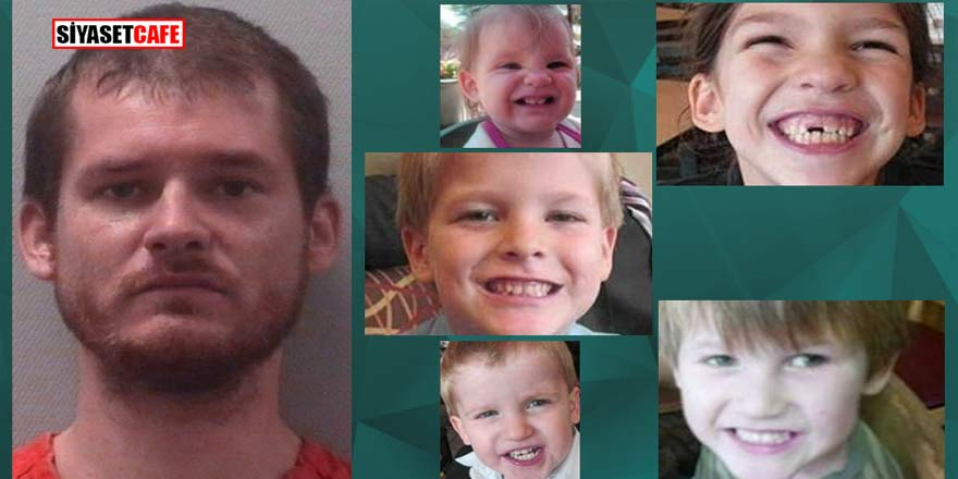 Cani adam karısından intikam almak için 5 çocuğunu öldürdü!