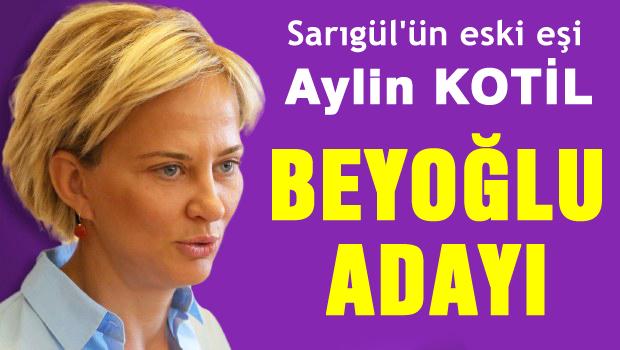 Aylin KOTİL CHP Beyoğlu Adayı