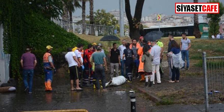 İstanbul'da sel can aldı: 1 ölü
