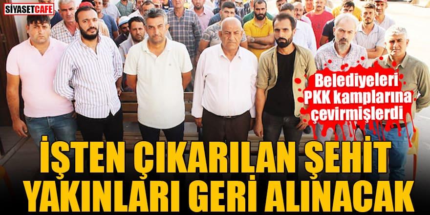 Mardin'de kayyumun ilk icraatı: İşten çıkarılan şehit yakınları yeniden işe alınacak