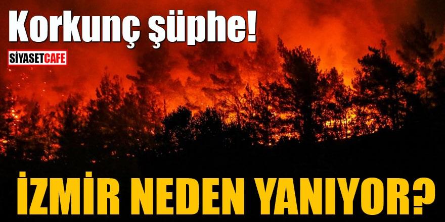 İzmir neden yanıyor? Korkunç şüphe