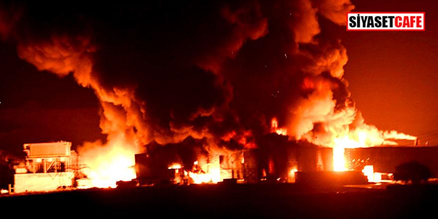 Son Dakika! Tekirdağ'da yangın