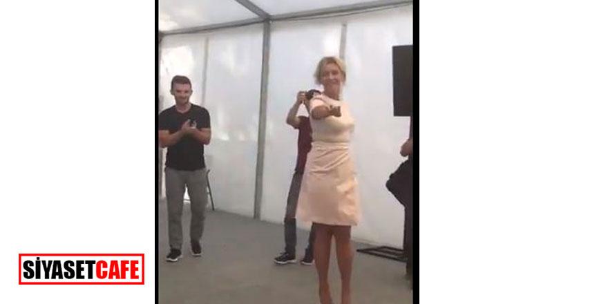 Dışişleri sözcüsünün kıvrak dansı- Video