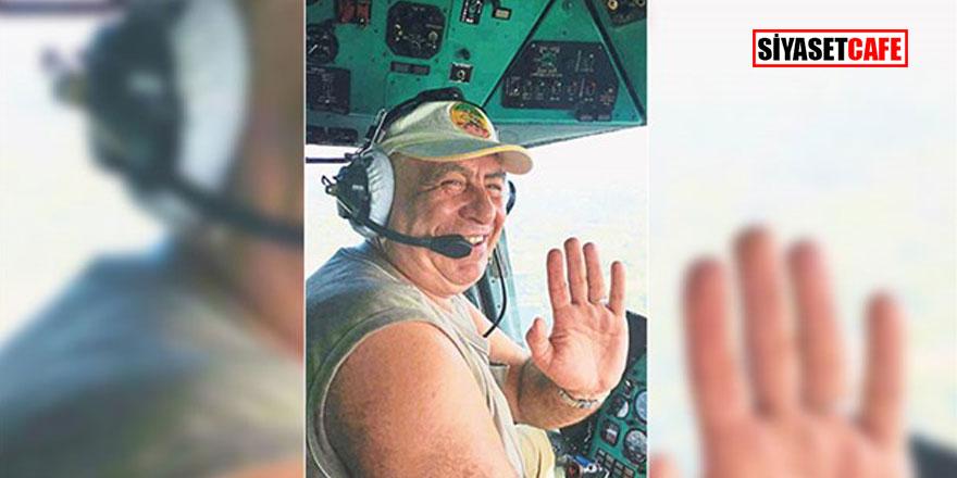Sır ölüm! İzmir yangınında görevli  helikopter pilotu, otel odasında ölü bulundu