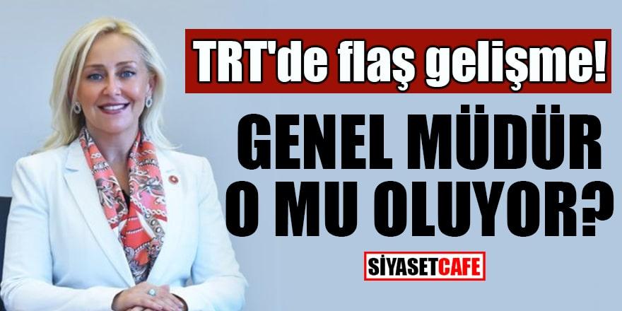 TRT'de flaş gelişme Genel Müdür o mu oluyor?
