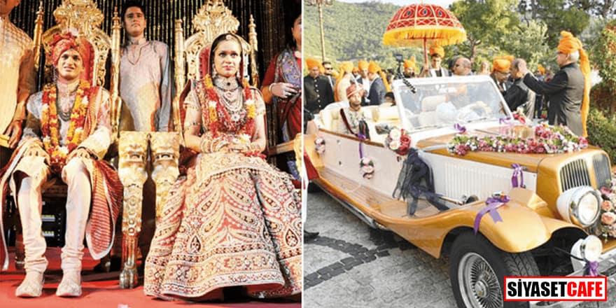 Hint düğününde Türkiye rekoru! 50 Milyon dolar geldi
