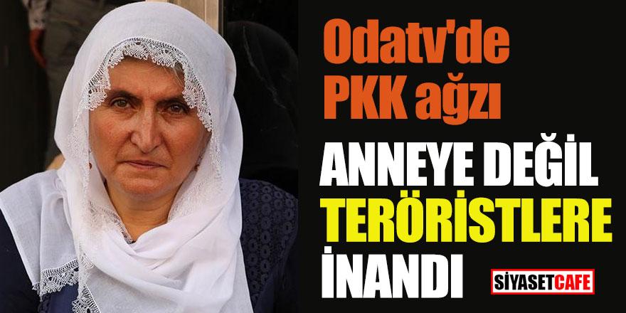 Oda tv'de PKK ağzı; anneye değil teröristlere inandı