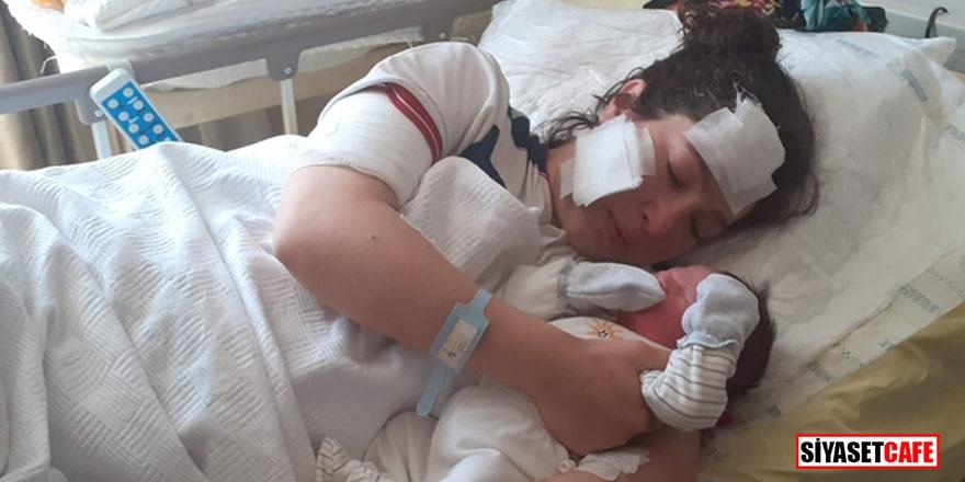 Doğum yaptıktan sonra bıçaklanmıştı! Talihsiz anne komadan çıktı