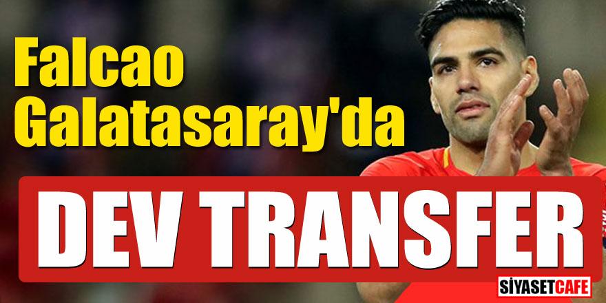 Falcao Galatasaray'da! Dev transfer