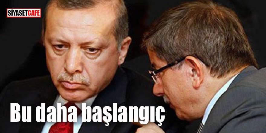 Davutoğlu'nun ihraç kararı böyle alındı: Bu daha başlangıç!