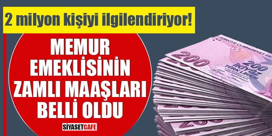Zam oranları belli oldu! En düşük emekli maaşı 2 bin 711 lira