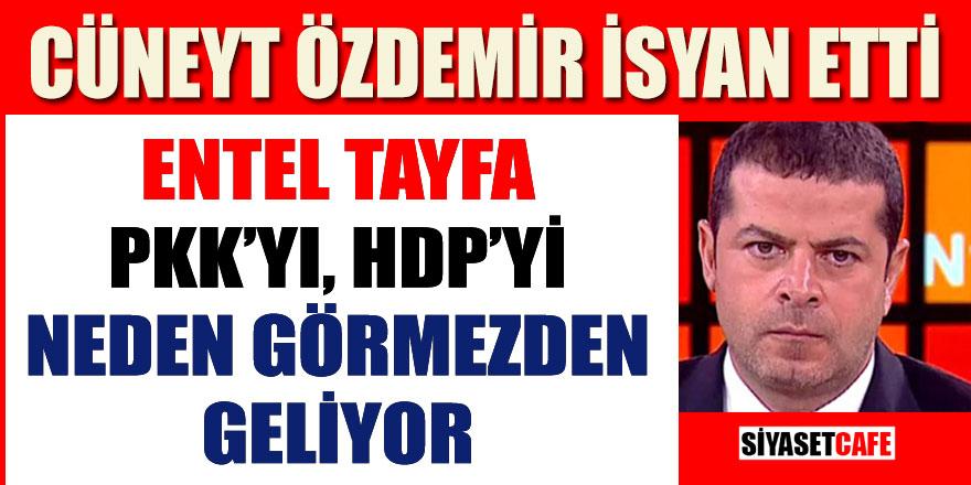 """Cüneyt Özdemir isyan etti; """"Neden görmezden geliyorsunuz"""""""