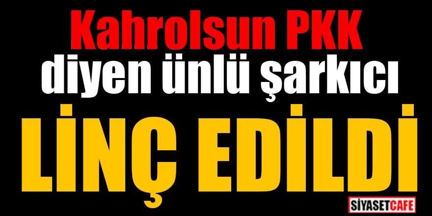 'Kahrolsun PKK' diyen Haluk Levent'e çirkin saldırı