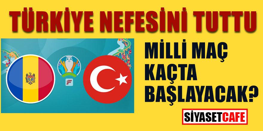 Nefesler tutuldu! Türkiye Moldova maçı kaçta başlayacak? Hangi kanalda yayınlanacak? Moldova maçı ilk 11