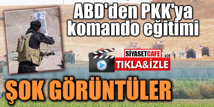 ABD'den PKK'ya komando eğitimi ŞOK GÖRÜNTÜLER