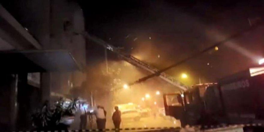 Hastanede can pazarı;11 kişi yanarak öldü!