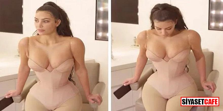 Kardashian'dan şok itiraf; Korseyi çıkaramadım, altıma kaçırdım