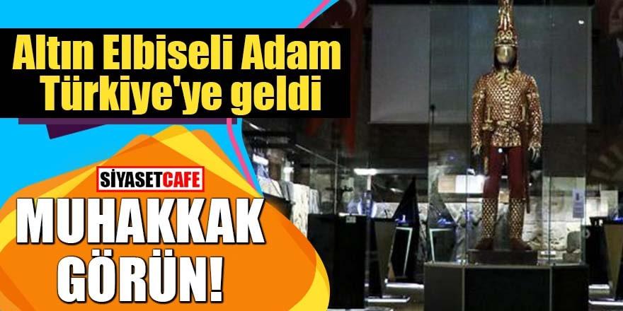 Altın Elbiseli Adam Türkiye'ye geldi: Muhakkak görün!
