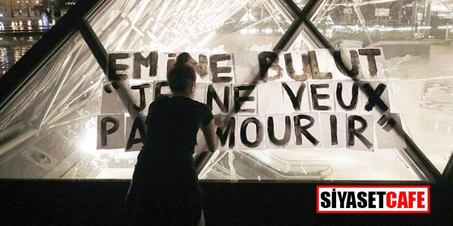 Emine Bulut'u adı Louvre Müzesi piramidinde