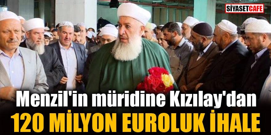 Menzil'in müridine Kızılay'dan 120 milyon euroluk ihale